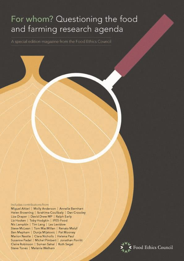Cover_Food ethics council